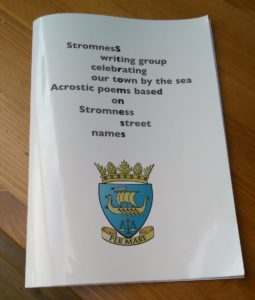 Stromness, acrostic, Gabrielle Barnby, Orkney, Scottish, Islands, Northlight Gallery, 200