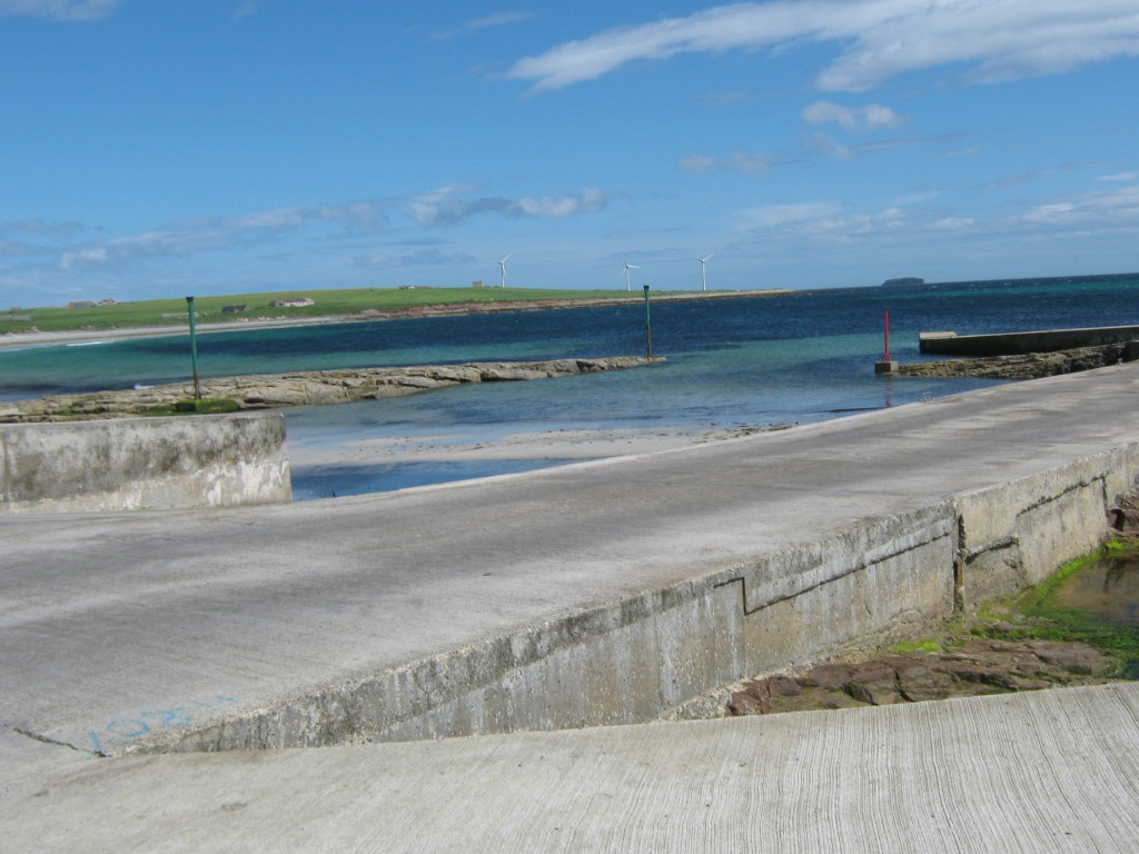 Newark Bay, Orkney by Gabrielle Barnby