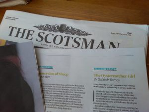 The Scotsman, The Oystercatcher Girl, Gabrielle Barnby, new novel, Orkney, Writer