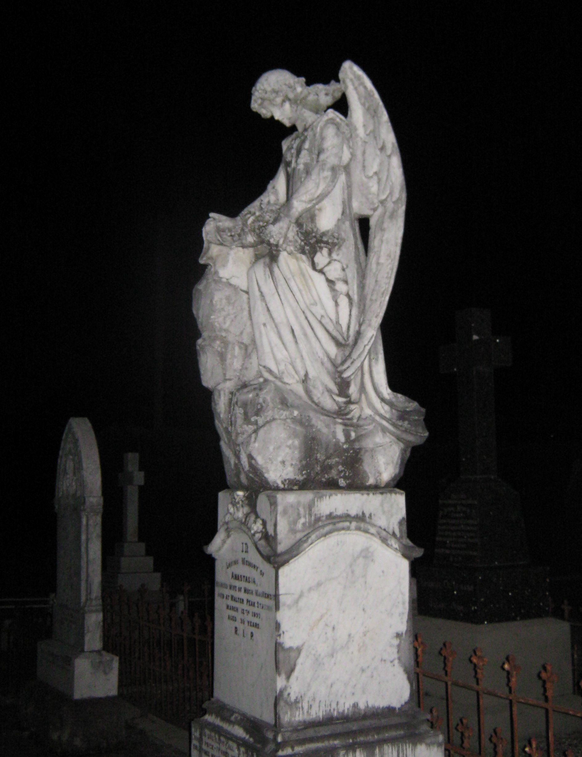 An angel watching over me....writing in Orkney, France, everywhere – Gabrielle Barnby