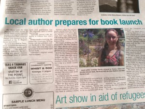 Thunderpoint, Orcadian, , Book launch, The House With The Lilac Shutters, Gabrielle Barnby