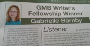George Mackay Brown, Fellowship, short story competition, winner, Gabrielle Barnby