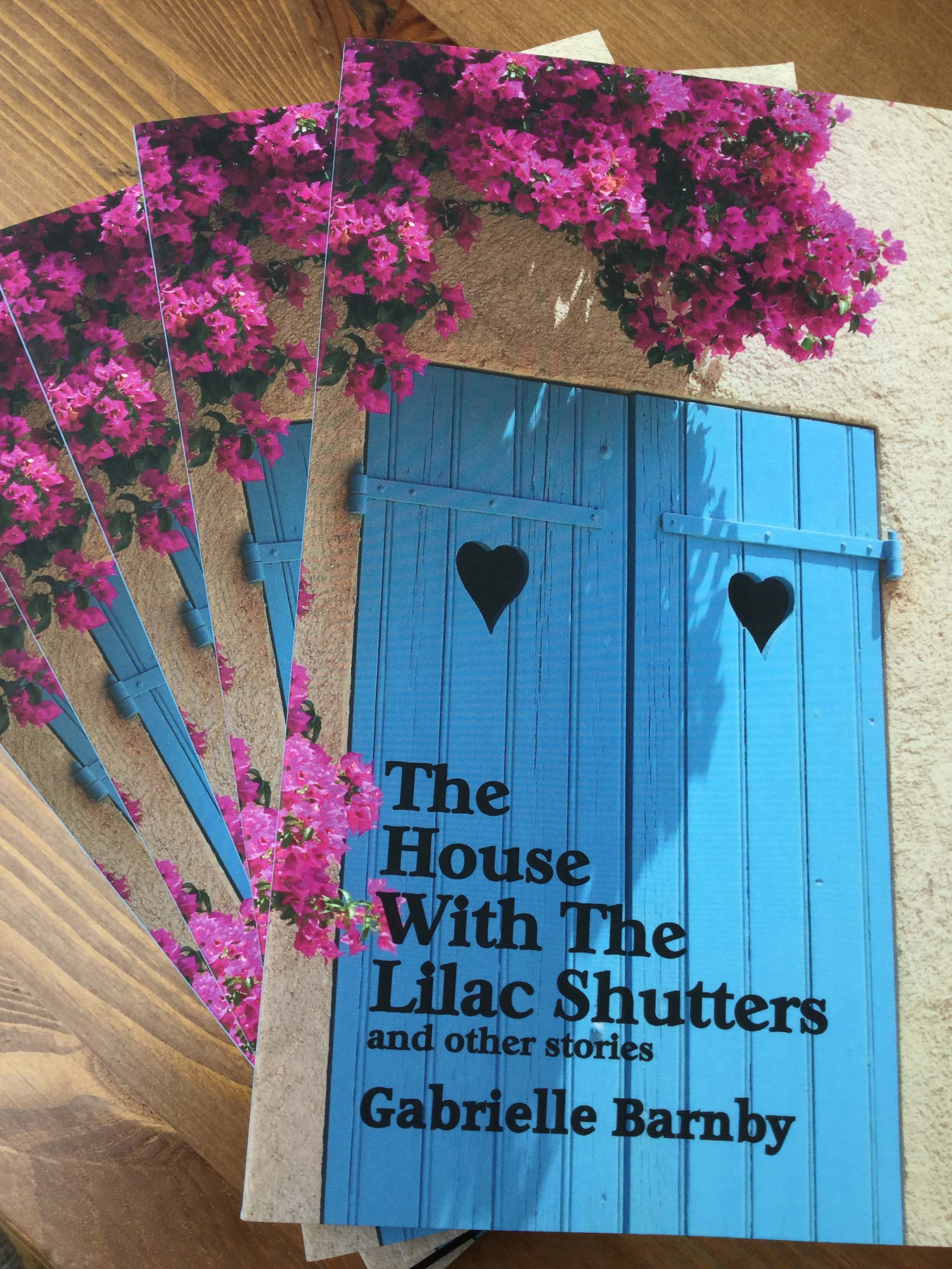 The House With The Lilac Shutters, Gabrielle Barnby, Romance, Scotland,