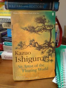 An Artist of the Floating World, Kazuo Ishiguro, book review, Gabrielle Barnby, Orkney