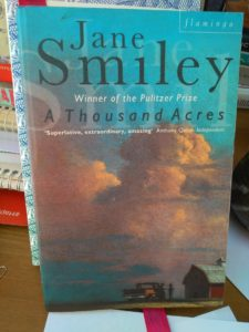 A Thousand Acres, Jane Smiley, book review, Gabrielle Barnby, Orkney