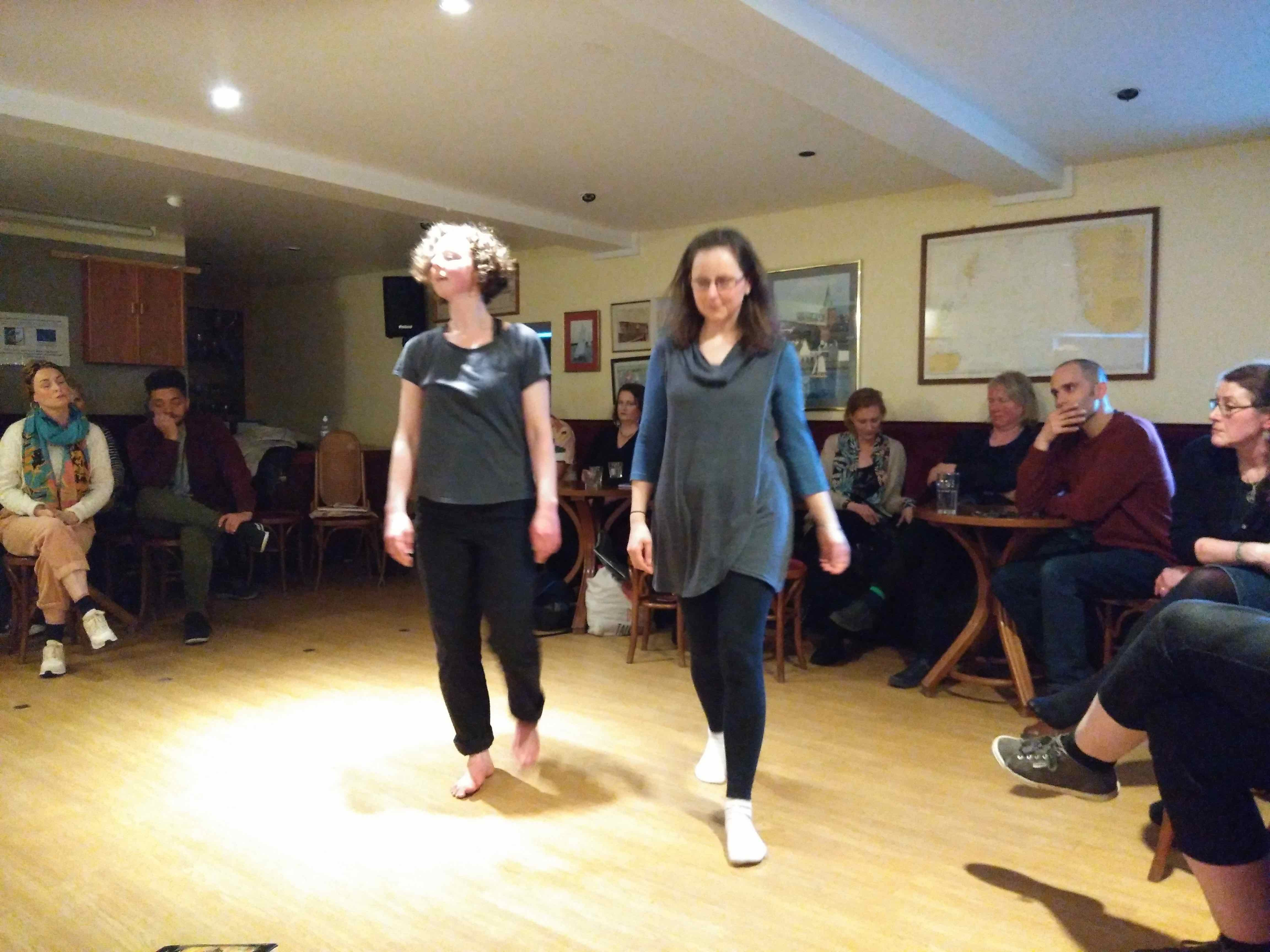 The Tern, Gabrielle Barnby, Julia McGhee, National Theatre Scotland, One Day to Play, poetry, dance, birds