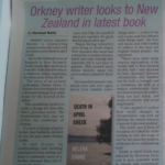 Death in April Creek, The Orcadian, Helena Cooke, Gabrielle Barnby, New Zealand thriller.