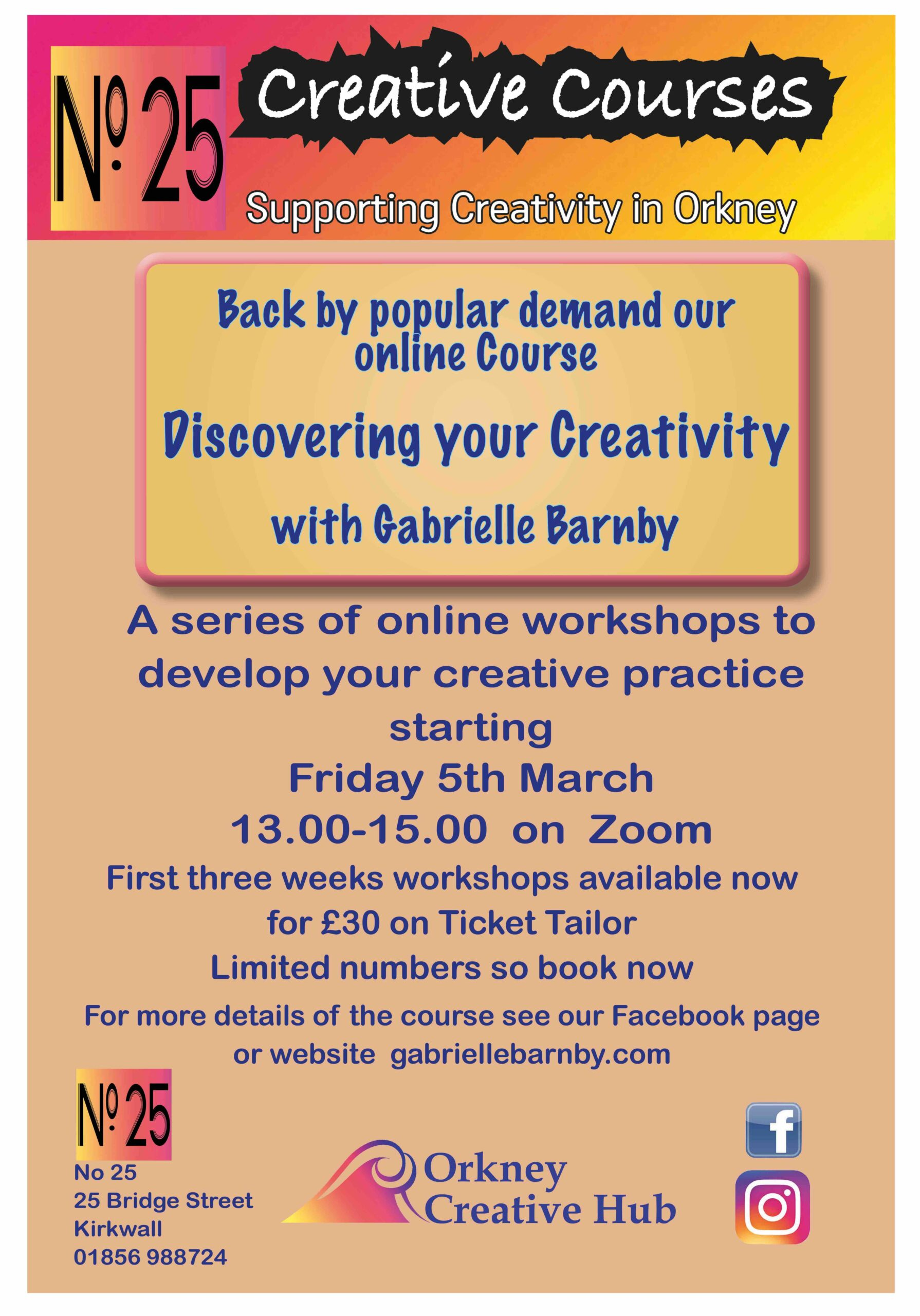 Discovering Creativity, Gabrielle Barnby, Orkney