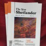 The New Shetlander, Gabrielle Barnby, poems, Orkney