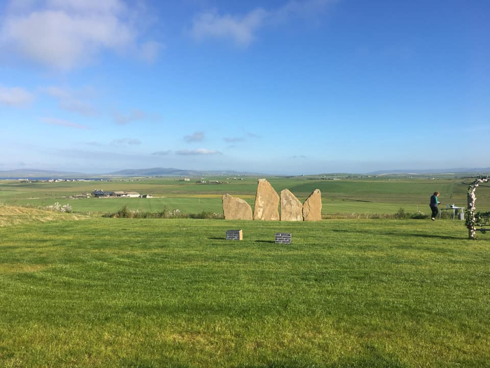 Bragi's space, Kristin Linklater VOice Centre, Orkney. Gabrielle Barnby, Stromness Writing Group