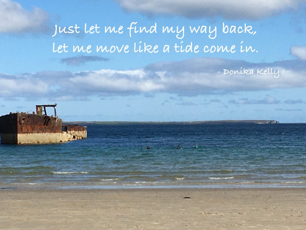 Inganess Bay, Orkney, Gabrielle Barnby, Writing for wellbeing,